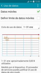 Samsung A500FU Galaxy A5 - Internet - Ver uso de datos - Paso 8