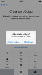 Apple iPhone 6 iOS 8 - Primeros pasos - Activar el equipo - Paso 18