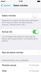 Apple iPhone 5s - Internet - Configurar Internet - Paso 4