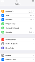 Apple iPhone 6s iOS 10 - Internet - Configurar Internet - Paso 3