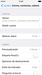Apple iPhone SE - E-mail - Configurar Yahoo! - Paso 9