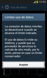 Samsung S7580 Galaxy Trend Plus - Internet - Ver uso de datos - Paso 9