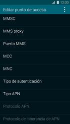 Samsung G900F Galaxy S5 - MMS - Configurar el equipo para mensajes multimedia - Paso 12