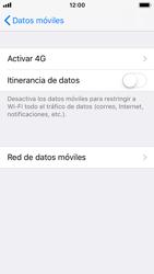 Apple iPhone 5s - iOS 11 - Internet - Configurar Internet - Paso 6