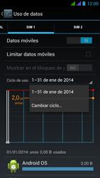 BQ Aquaris 5 HD - Internet - Ver uso de datos - Paso 7