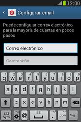 Samsung S6310 Galaxy Young - E-mail - Configurar correo electrónico - Paso 5