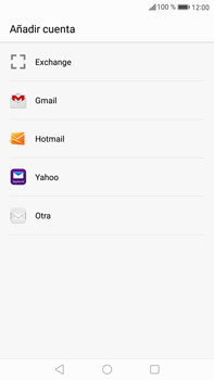 Huawei Mate 9 - E-mail - Configurar Outlook.com - Paso 4