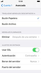 Apple iPhone 5s - iOS 11 - E-mail - Configurar correo electrónico - Paso 22
