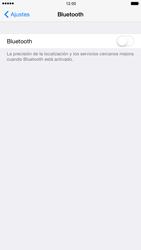 Apple iPhone 6 iOS 8 - Connection - Conectar dispositivos a través de Bluetooth - Paso 4