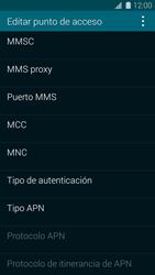 Samsung G900F Galaxy S5 - Internet - Configurar Internet - Paso 12