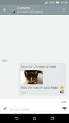 HTC One A9 - MMS - Escribir y enviar un mensaje multimedia - Paso 22
