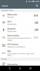 HTC One A9 - Red - Activar o desactivar el modo avión - Paso 5