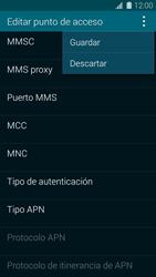 Samsung G900F Galaxy S5 - MMS - Configurar el equipo para mensajes multimedia - Paso 15
