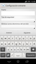 Sony D2203 Xperia E3 - E-mail - Configurar correo electrónico - Paso 9