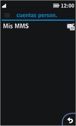 Nokia Asha 311 - MMS - Configurar el equipo para mensajes multimedia - Paso 13