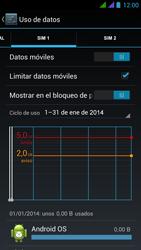 BQ Aquaris 5 HD - Internet - Ver uso de datos - Paso 11