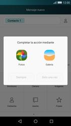 Huawei P8 Lite - MMS - Escribir y enviar un mensaje multimedia - Paso 12