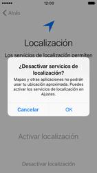 Apple iPhone 5s iOS 10 - Primeros pasos - Activar el equipo - Paso 10