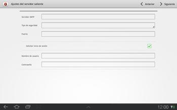 Samsung P7500 Galaxy Tab 10-1 - E-mail - Configurar correo electrónico - Paso 11