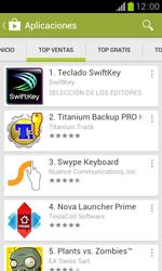 Samsung S7560 Galaxy Trend - Aplicaciones - Descargar aplicaciones - Paso 8