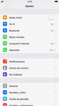 Apple iPhone 8 Plus - Internet - Configurar Internet - Paso 3