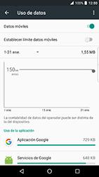 BlackBerry DTEK 50 - Internet - Ver uso de datos - Paso 8