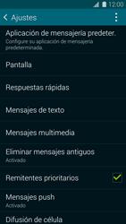 Samsung G900F Galaxy S5 - MMS - Configurar el equipo para mensajes de texto - Paso 6