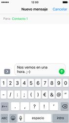 Apple iPhone 5s iOS 10 - MMS - Escribir y enviar un mensaje multimedia - Paso 8