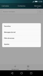 Huawei P8 Lite - MMS - Configurar el equipo para mensajes de texto - Paso 4