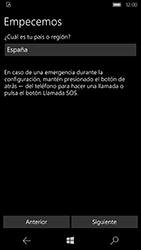 Microsoft Lumia 950 - Primeros pasos - Activar el equipo - Paso 4