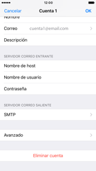 Apple iPhone 6s iOS 10 - E-mail - Configurar correo electrónico - Paso 25