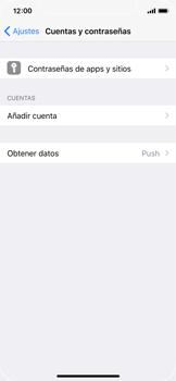 Apple iPhone X - E-mail - Configurar correo electrónico - Paso 4