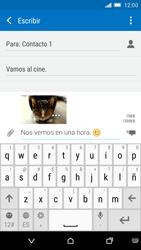 HTC One M9 - MMS - Escribir y enviar un mensaje multimedia - Paso 18