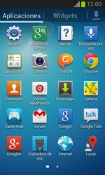 Samsung I8260 Galaxy Core - Internet - Activar o desactivar la conexión de datos - Paso 3