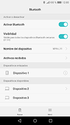 Huawei Y6 (2017) - Connection - Conectar dispositivos a través de Bluetooth - Paso 7