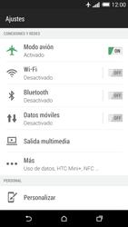HTC One M8 - Red - Activar o desactivar el modo avión - Paso 5
