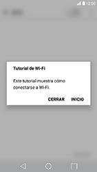 LG K10 (2017) - WiFi - Conectarse a una red WiFi - Paso 4