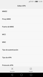 Huawei P9 Lite - Internet - Configurar Internet - Paso 12
