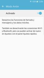Samsung Galaxy S7 Edge - Red - Activar o desactivar el modo avión - Paso 6