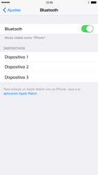 Apple iPhone 6 iOS 8 - Connection - Conectar dispositivos a través de Bluetooth - Paso 5