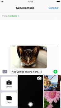 Apple iPhone 8 Plus - MMS - Escribir y enviar un mensaje multimedia - Paso 15