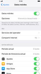 Apple iPhone 6s iOS 11 - Internet - Ver uso de datos - Paso 4