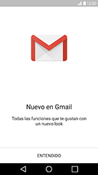 LG K10 (2017) - E-mail - Configurar Gmail - Paso 4