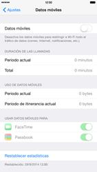 Apple iPhone 6 Plus iOS 8 - Internet - Activar o desactivar la conexión de datos - Paso 5