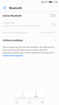 Huawei Mate 9 - Connection - Conectar dispositivos a través de Bluetooth - Paso 4