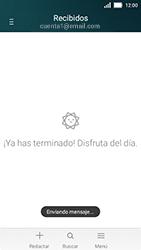 Huawei Y5 - E-mail - Escribir y enviar un correo electrónico - Paso 16
