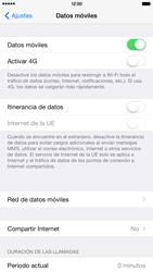 Apple iPhone 6 Plus iOS 8 - MMS - Configurar el equipo para mensajes multimedia - Paso 5