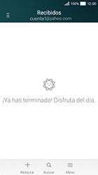 Huawei Y5 - E-mail - Configurar Yahoo! - Paso 12