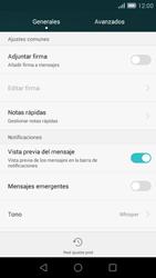 Huawei Ascend G7 - MMS - Configurar el equipo para mensajes de texto - Paso 6