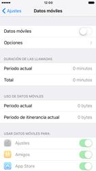 Apple iPhone 6s iOS 10 - Internet - Activar o desactivar la conexión de datos - Paso 5
